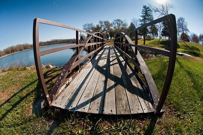 Footbridge Fisheye