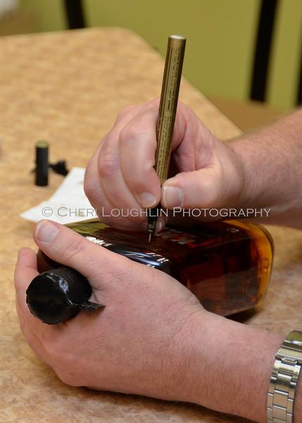 Bottle Signing