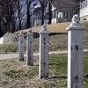 Fence posts without the fence