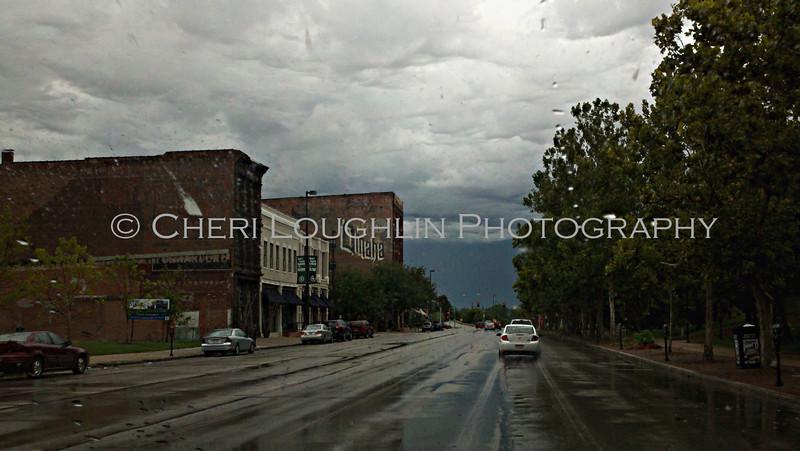 Rainy Omaha