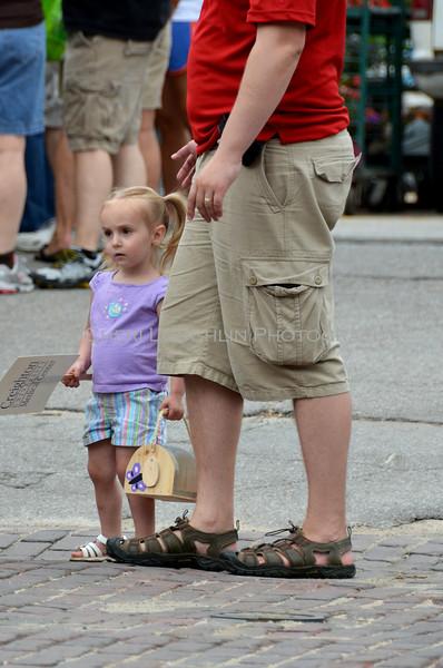 Omaha Farmer's Market - Little Girl w/ Bug Keeper