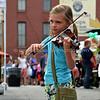 Omaha Farmer's Market - Girl Musician