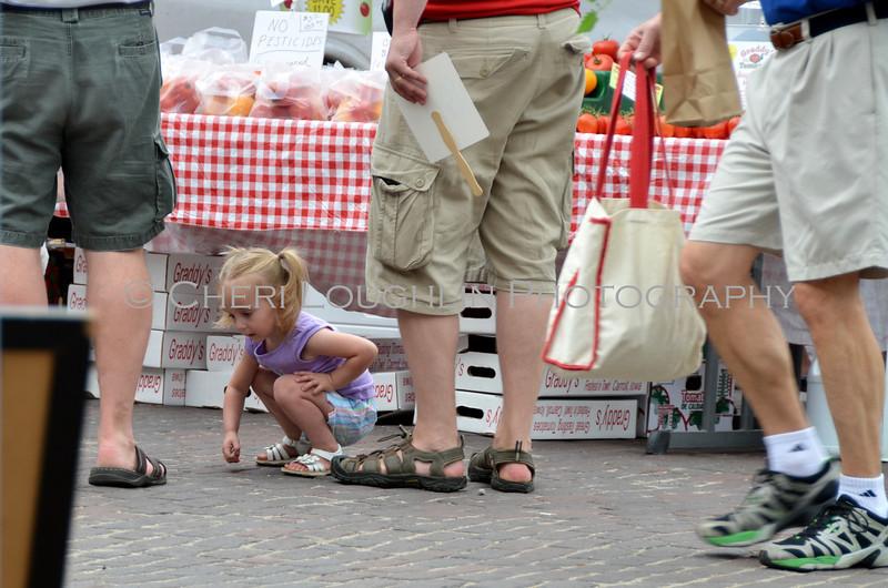 Omaha Farmer's Market - Little Girl