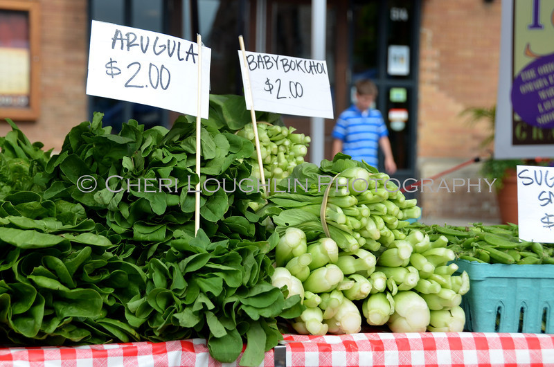 Omaha Farmer's Market - Arugula & Baby Bokchoi