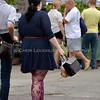 Omaha Farmer's Market - Female in Dress