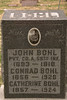 John Bohl, was 25 when he was wounded in action in France , later died post-Armistice on Christmas eve, 1918.