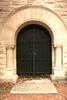 Receiving Vault iron doors.