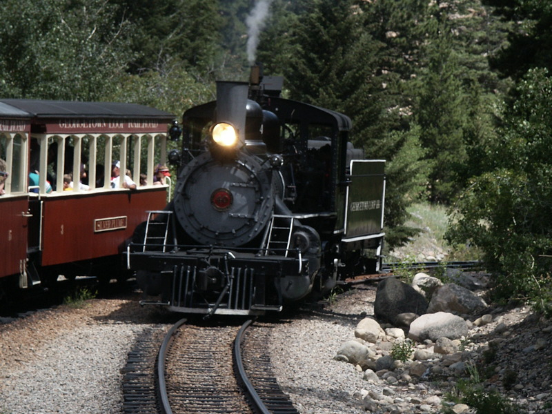 Ride a steam train