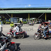 The bus terminal and station and tricycle transport vehicles in Kabankalan,  Negros Occidental, Philippines.