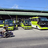 The bus terminal and station in Kabankalan, Negros Occidental, Philippines.