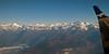Langtang Lirung (7225m, left) and Shisha Pangma / Gosainthan (8027m), 9 December 2007 - 0802   Looking north.