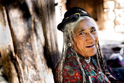 Brokpa Woman, Ladakh, India