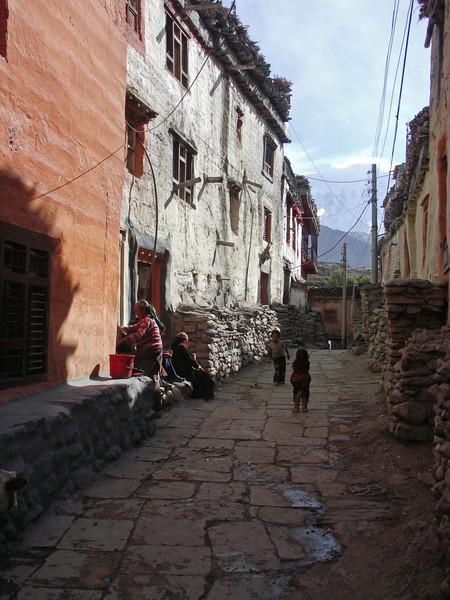Kagbeni. Annapurna Circuit