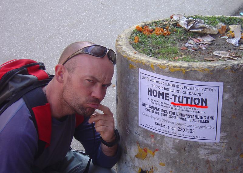 Nice spelling! Kathmandu