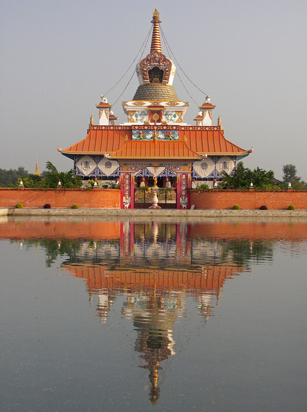 German (?) Temple. Lumbini