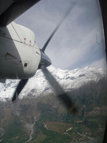 Pokhara - Jomsom flight.