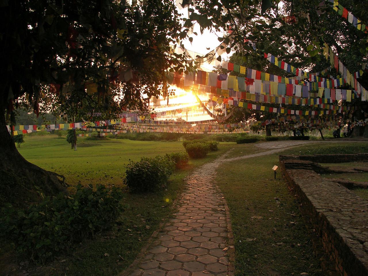 Sacred Garden. Lumbini