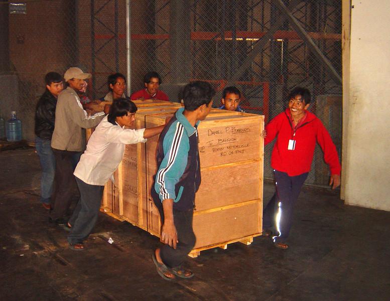 Air Cargo Centre. Kathmandu