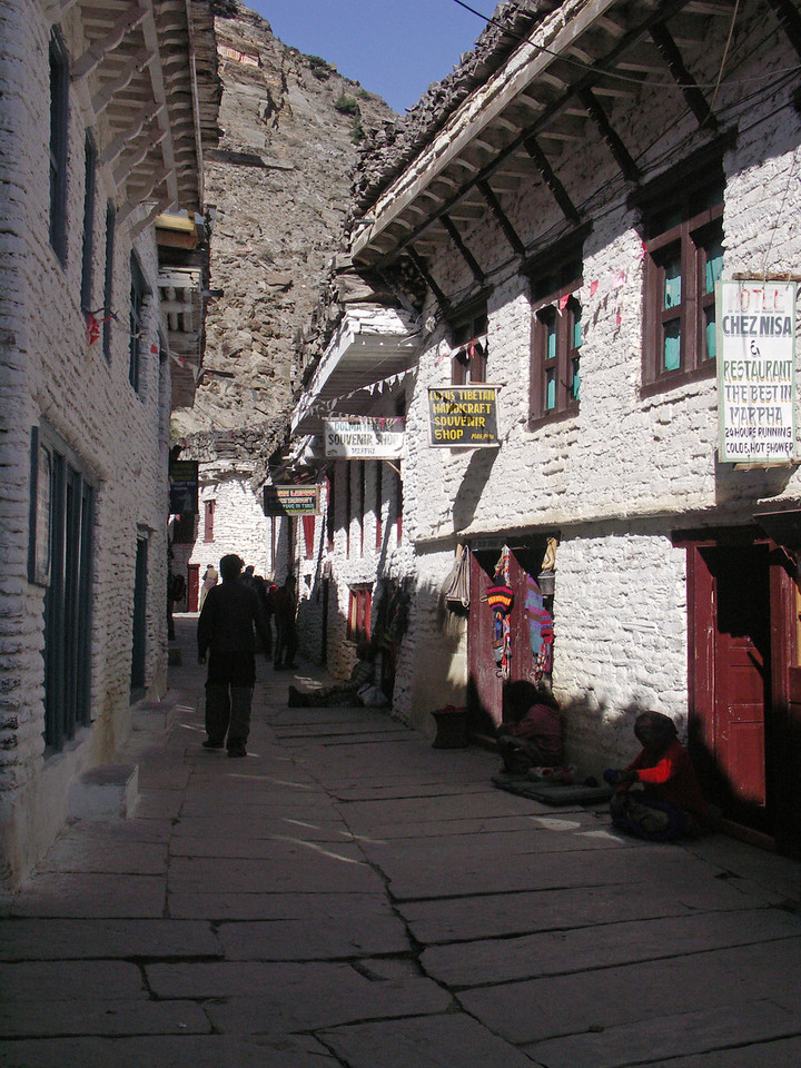 Marpha. Annapurna Circuit