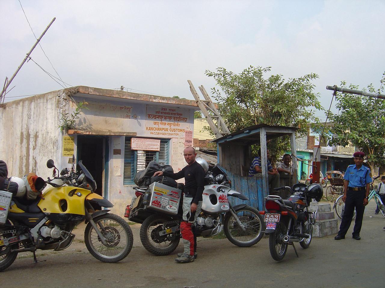 Mahendranagar border crossing