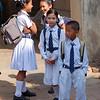 Schoolchildren in Patan