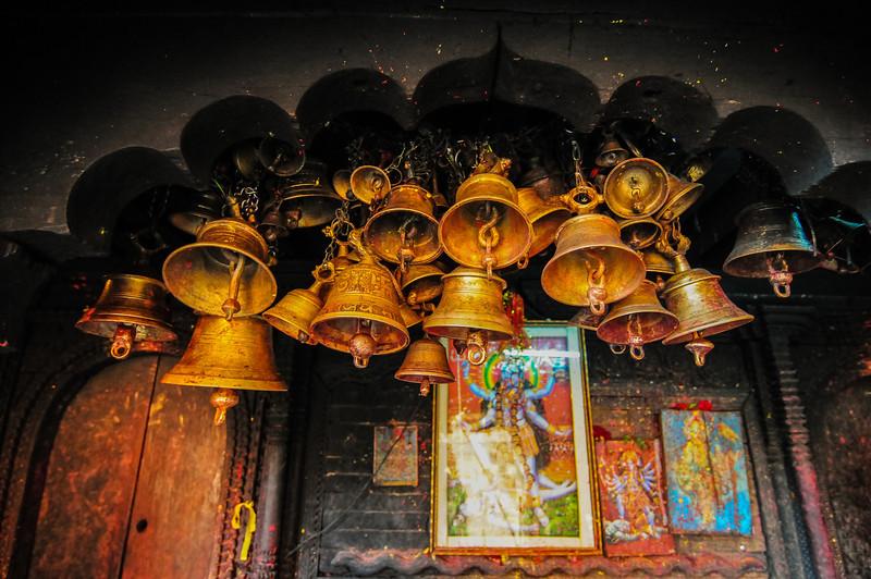 The Kalika Mandir, Gorkha Durbar. Gorkha, Nepal