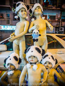 Something about this is just mildly disturbing. Jalan Alor, Kuala Lumpur, Malaysia.