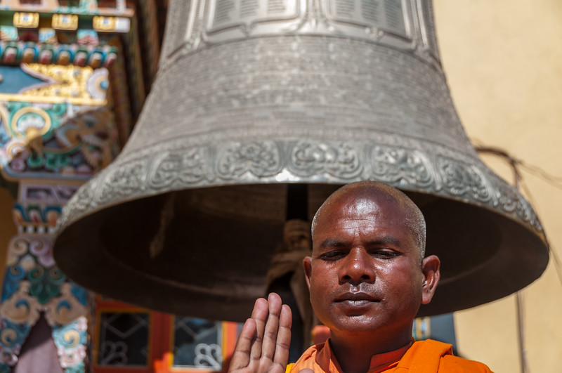 'Old Bell and Monk' - Sounds like an English Pub! Boudha, Nepal