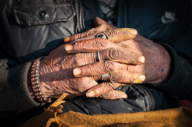 'If hands could talk'. Pashupatinath. Nepal