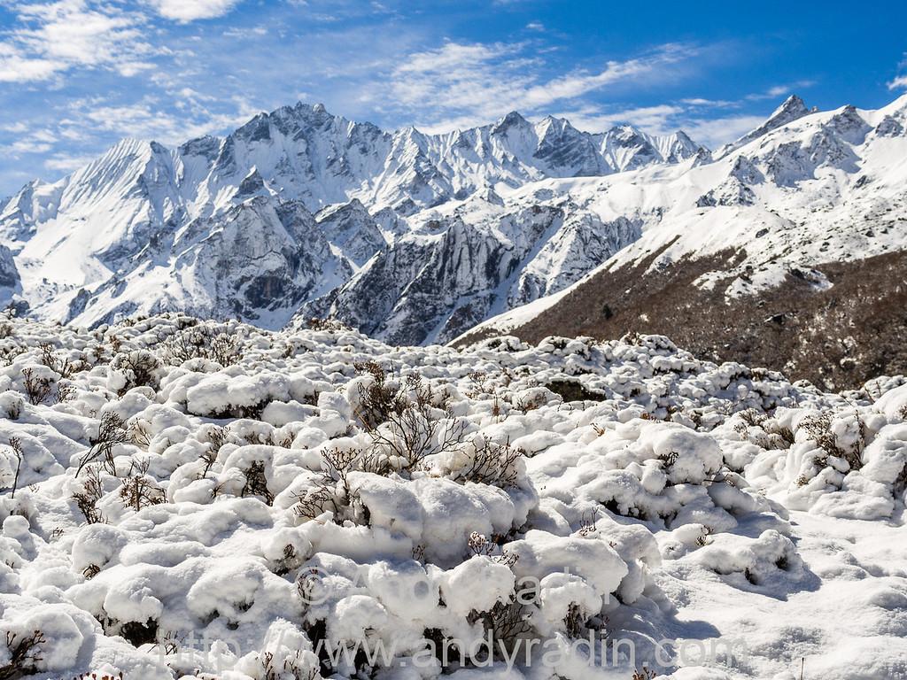 Langtang valley trek, Nepal
