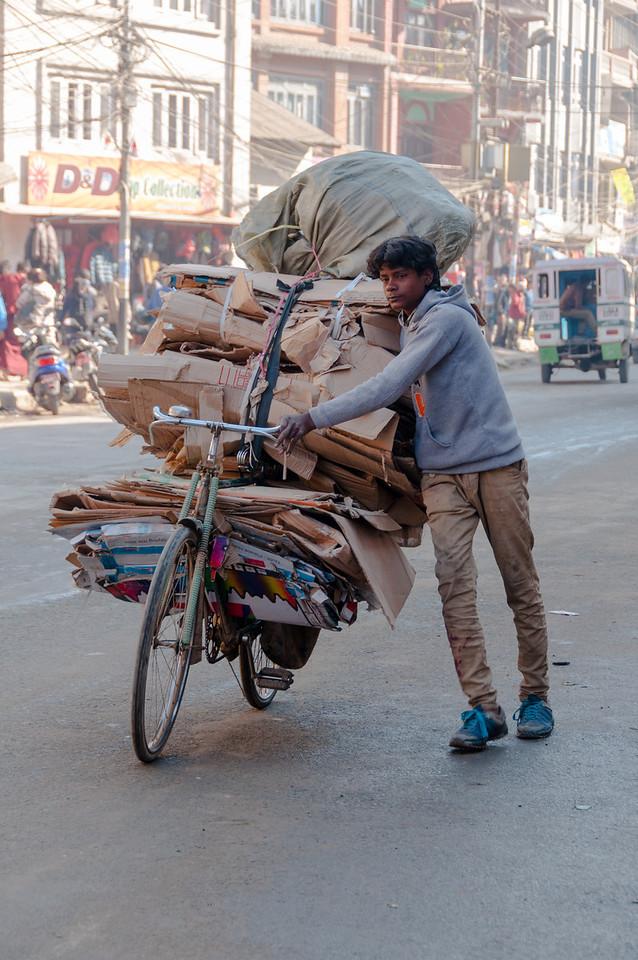 Recycling Kathmandu style. Nepal