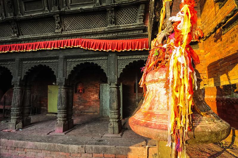 The Gorkha Durbar. Gorkha, Nepal