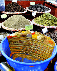 Spice Bazaar at Souq Waqif, Doha, Qatar (c) 2012 Karin Markert, kmarkert88@gmail.com, all rights reserved.