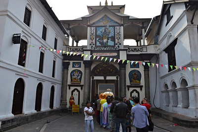 Pashupati Entrance for Hindus (c) 2012 Karin Markert, kmarkert88@gmail.com, all rights reserved.