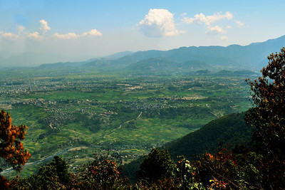 View of South Kathmandu from Haatiban (c) 2012 Karin Markert, kmarkert88@gmail.com, all rights reserved.