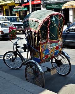 Thamel Bicycle Rickshaw (c) 2012 Karin Markert, kmarkert88@gmail.com, all rights reserved.