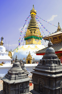 Swayambunath, Kathmandu (c) 2012 Karin Markert, kmarkert88@gmail.com, all rights reserved.