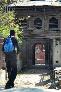 School in Naxal, Kathmandu, Nepal (c) 2012 Karin Markert, kmarkert88@gmail.com, all rights reserved.