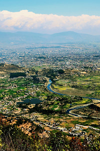 View of Kathmandu from Haatiban (c) 2012 Karin Markert, kmarkert88@gmail.com, all rights reserved.