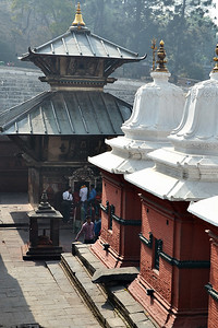 Shrines at Pashupati (c) 2012 Karin Markert, kmarkert88@gmail.com, all rights reserved.