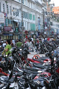 Ok, I've never seen so many bikes at once.