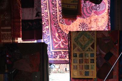 Fabric shop in Kathmandu