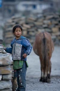 Girl in Khobung village