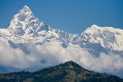 Machhapuchhre over Pokhara
