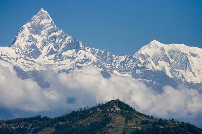 Machhapuchhre over Pokhara