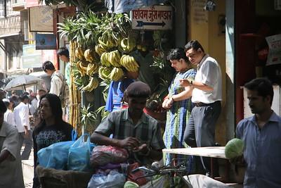 Fruit stand in Kathmandu