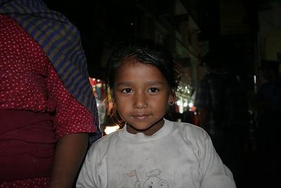 Girl in Thamel, Kathmandu. She wanted 800 rupee for this! Ha!