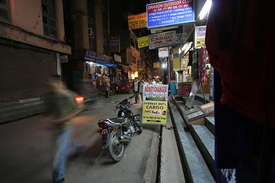 Thamel by night, Kathmandu