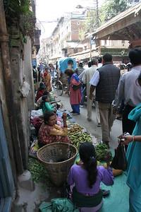 Street market in Kathmandu