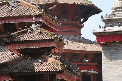 Temples at Durbar Square, Kathmandu